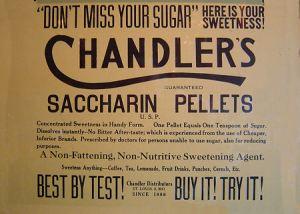 chandlers_saccharin_pellets